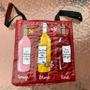 Authentic French Wine Carrier Bag 9 Bottles NEW